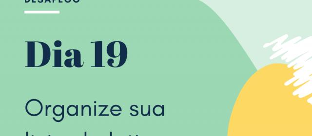 Dia 19 – Organize sua Lista de Leitura