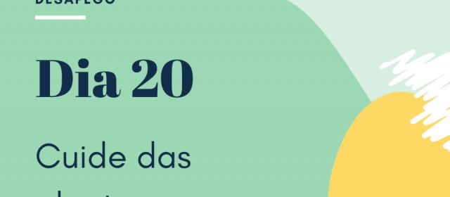 Dia 20 – Cuide das plantas (ou arranje uma para cuidar)